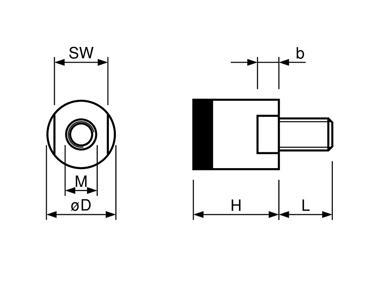 aimant grappin plat 20mm aimant vis et fermeture 123 magnet. Black Bedroom Furniture Sets. Home Design Ideas
